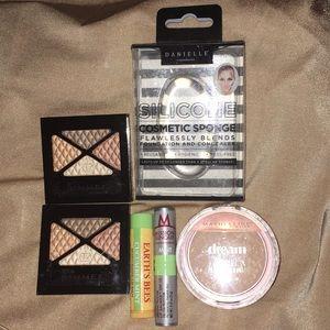 New lot Of 6 Makeup Lip Balm cosmetic Sponge etc